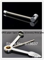 Free shipping 1pcs smoking pipes and 1pcs smoke accessories  portable metal smoke tool pipe durable Smoke knife