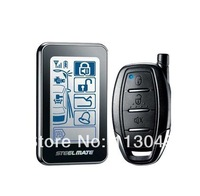Car alarms, two-way burglar sound and light touch screen alarm Remote control car alarm with led light