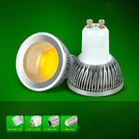 50Pcs/Lot GU10 5W/7W/9W AC85-265V LED COB Spot Light Bulbs Warm White/White High Brightness Wholesale