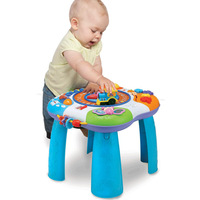 free  shpping  gift Study desk game table 1 baby toy multifunctional baby educational toys 1 to 3 years old 0801