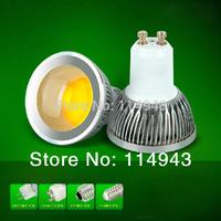 5Pcs/Lot COB LED Spot Light Bulbs Lamp Warm White/Cool White High Brightness dimmable Epistar LED