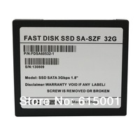 SkyMallHK  32GB 1.8 inch SSD Sata2 Hard Drive Solid State Drive Disk For  Asus Acer Sony  Intel Spec PC laptop Free Shipping