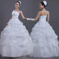 Free shipping !2014 fashion women dress  Sweet lace Lovely High-quality Sexy princess dress  flower bride wedding dress