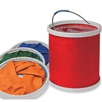 3.5l folding bucket color box car bucket packaging portable car wash bucket