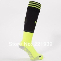 New 2014 World Cup Thailand Quality Socks 13-14 Spain National Team Away Soccer Socks, Long Thinken cotton Football socks