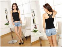Women's Summer bowknot fashion vest Condole belt