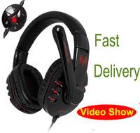 Free Shipping New 2014 HIFI headphones game brand Genuine Somic G927 7.1 Surround Gaming Headset  Headphone  Earphone with Mic