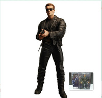 "HOT NECA Terminator 2 S3 Series 3 T-800 Pescadero Escape 7"" Action Figure"