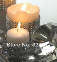 Free Shipping 2014 Decorative Plastic Diamond Gift  Wrapping Mesh