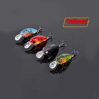 4 Colors Trulinoya DW24 35mm 3.5g 1.2m Mini Crank Fishing Lure Hard Bait with BKK Hooks Red