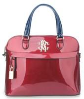 FREE SHIPPING! 2014 new style women leather handbag already set bag gold lock women messenger bag hand bag girl shoulder bag