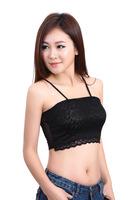 Women's Sexy lace Strapless /Condole belt vest