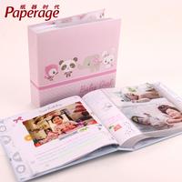 Cartoon baby child 4r200 pocket interlays photo album diy photo album birthday gift