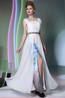 New Floor Length Summer Tulle Formal Cocktail Party Dresses Wedding Evening Dress Long Prom Gowns Special Occasion