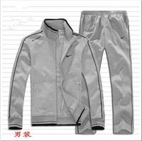 2014 New Hot collar men sports suit sportswear autumn Autumn Sweater