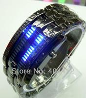 2014 Hot Selling Brand New Men's Stylish LED Luxury Digital Date Full Steel Sports Wrist Watch,Designer wristwatch for Boyfriend
