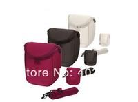 Free shipping Camera Cover Case Bag for Sony LCS BBF NEXF3 NEX5R NEX5N NEX7 HX200 etc. Black, White, Red