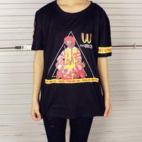 Free shipping!2014 HARAJUKU women's mcdonald short-sleeve T-shirt female leisure 3 color