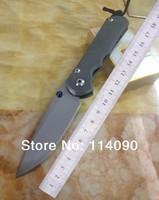 Free shipping 100% Wild Boar brand Chris Reeve 25th Anniversary Sebenza D2 steel blade Tiantium Alloy hanlde folding knife