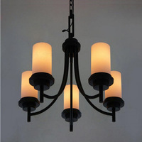 Series 4 fashion vintage american glass cover pendant light meal