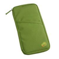 Trip Passport Credit Card Holder Pouch Cash Wallet Organizer Bag Purse - Green