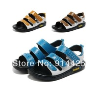 2014 New Summer Male Child Super-Fibre Leather Wear-Resisting Sandal Child Boy Beach Joker Style Shoes