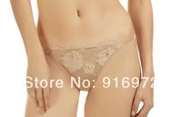 Hot sale French Brand Acousma women whole Lace beautiful  G-strings  women Panties  11.4$ /3pcs Free shipping