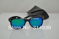 Hot , UV New men sunglasses , women sunglasses . high quality retro sunglasses 140.Colored reflective glass lens sunglasses50MM