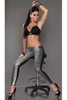 ML7625 Sliver Snake Skin Shinning Leggings 2014 Hot Sale Sexy Spring Summer Fashion Leggings Printed Leggins for Women