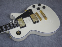 LP CST Randy Rhoads Electric Guitar, Ebony Fingerboard, Frets End with Binding, Vintage White