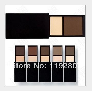 10color eyebrow powder eye shadow 5pcs/lot High quality(China (Mainland))