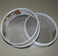 30cm flour sieve plastic flour sieve baking tools