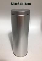 Free shipping! 2pcs/lot modern stylish design Metal Tin Tea Box(6.5x18cm) Mini Coffee box/ cute Storage box/ Storage Case