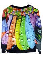EAST KNITTING FH-91 womans sexy sweaters harajuku sweatshirts fall 2013 women designer fashion plus size galaxy print pullovers