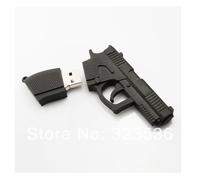 Hot sale!! FreeShipping ! New Cute Pistol model USB 2.0 Memory Stick Flash pen Drive 1GB 4GB 8GB 16GB 32GB/souqia 1/4/8/16/32 GB