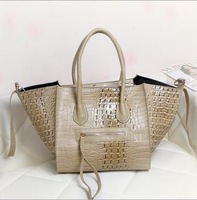 2014 spring and summer fashion crocodile handbag shoulder bag+Free shipping !!!