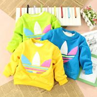 2014 Children's clothing  spring male child female child children baby t-shirt baby pullover sweatshirt shirt  for kid