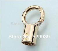 49.5*28.7mm gold finish die casting metal fitting hardware handbag/bag accessories connector hanger