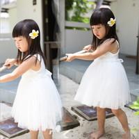 2014 summer girls short-sleeved denim lace dress children dress children tutu skirt children, free shipping
