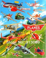 Free shipping , aircraft  wall STICKERS, children toy, 2designs / lot
