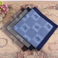 free shipping free shipping Big jacquard yarn dyed handkerchief 100% male cotton handkerchief 100% cotton handkerchief male