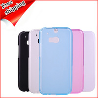 5pcs/lotFree shipping jelly sets protective case silica gel set phone case shell for htc one2 m8