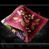 free shipping Handkerchief women's 100% cotton handkerchief 100% cotton female vintage flower nostalgic memory !