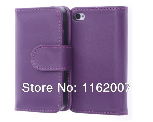 NEW---Boilfish ,Purple,Flip Cover,Card Holder, Wallet,PU Leather Case,AT&T,Verizon,Sprint,Unlocked ( Cover For iPhone 5 )(China (Mainland))