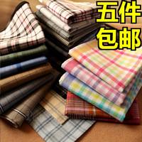 free shipping Handkerchief male 100% women's cotton handkerchief 100% cotton handkerchief