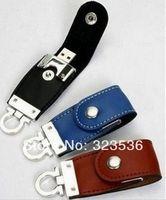 Hot sale!! Free Shipping !   New 1GB 4GB/8GB/16GB  Leather Fashion USB2.0 Flash Memory Pen Drive High Qualtiy