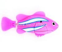 1 pcs New  Novel Robofish Electric Toy Robo Fish,Emulational Toy Robot Fish,Electronic pets Creative Baby toys