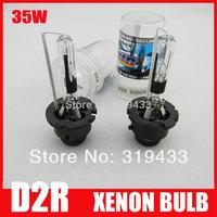 Free Shipping 35W D2R HID Xenon Bulb Globe 3000k 4300k 6000k 8000k 10000k 12000k Xenon Lamp for Headlight HID KIT Spares