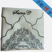 100% cotton handkerchief male women's child 100% cotton handkerchief squareinto end-to-end car unique gift customize