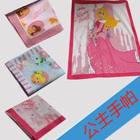 free shipping Princess series cartoon 100% cotton handkerchief 60 100% child cotton handkerchief squareinto soft